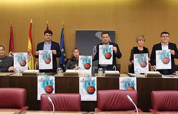 Presentación fase previa Champions League de Baloncesto en Silla de Ruedas.