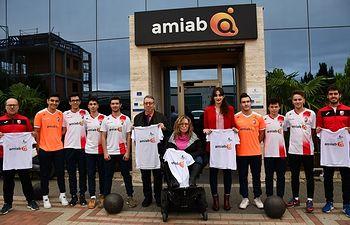 Amiab firma un convenio de colaboración y patrocinio con el Albacete Fútbol Sala.