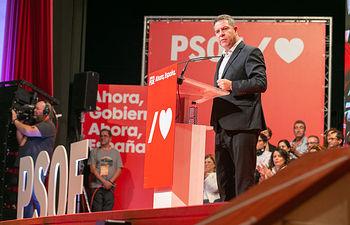 Acto de precampaña PSOE en Alcázar de San Juan.