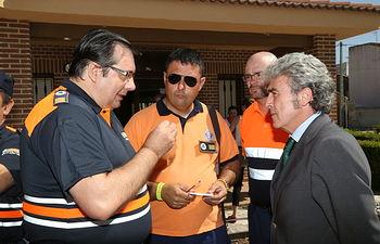 Leandro Esteban Voluntarios Protección Civil Guadalajara (2). Foto: JCCM.
