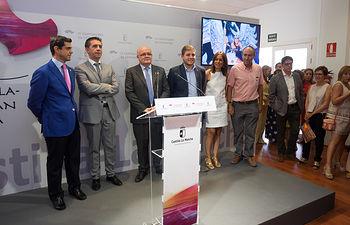 Inauguración del Stand de la Junta de Comunidades de Castilla-La Mancha en el Recinto Ferial de Albacete