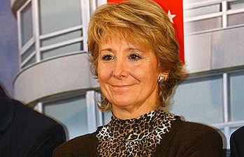 Esperanza Aguirre. Foto de archivo.