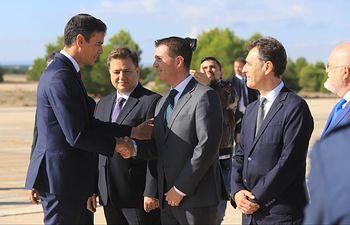 Pedro Sánchez visita Base Aérea de Albacete.