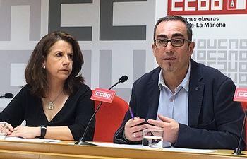 Paco de la Rosa y Raquel Payo.