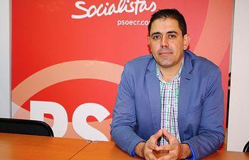 José Manuel Bolaños, candidato del PSOE al Senado por Ciudad Real.