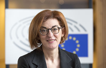 BRUSSELS, BELGIUM Thursday, 20JUN19.— Portrait of MEP Maite Pagazaurtundua. © Delmi Alvarez/ BR&U. Foto: All Rights Reserved © Delmi Alvarez. Copy, screenshoted or download images is illegal.