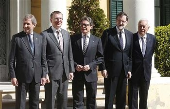 Rajoy inaugura la Cumbre ministerial UE/Vecindad Sur. Foto: Pool Moncloa / Acceso libre.
