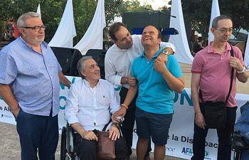 La discapacidad celebró su día grande en la Feria de Almansa