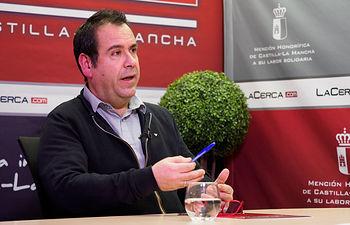 Juan Ramón Crespo, coordinador regional de IU en Castilla-La Mancha. Foto: Manuel Lozano García / La Cerca