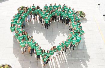 Globalcaja, junto con el Grupo Caja Rural y Seguros RGA, con la 'Iniciativa Solidaria', en favor de la Fundación ONCE