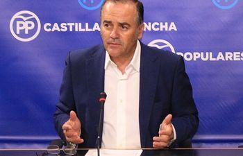 José Julián Gregorio, presidente provincial del PP de Toledo.