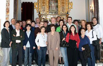 El director general de la Presidencia, Luis Miguel Maza, durante el encuentro con Asociaciones de Pedro Muñoz (Ciudad Real).
