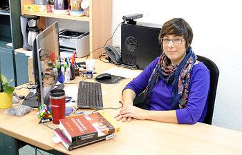 La investigadora de la Escuela Superior de Informática de la UCLM en Ciudad Real María José Santofimia