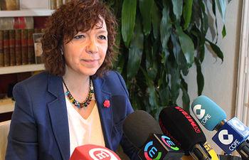 Rosa Melchor, alcaldesa de Alcázar de San Juan.