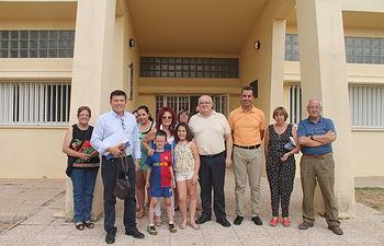Reunión del delegado de la Junta en Albacete, Pedro Antonio Ruiz Santos con los vecinos de esta pedanía de El Robledo