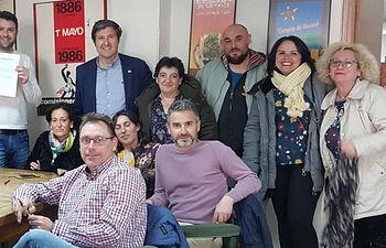 Firma del Convenio de Limpieza de Cuenca.