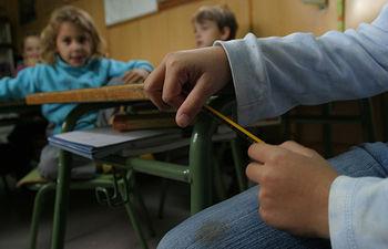 Niños en un aula. Foto: Luana Fischer Ferreira para INTEF.