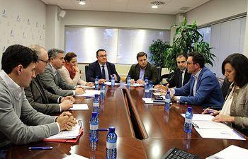 Reunión mantenida con la Junta Directiva de ADECA.