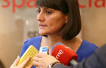 María González Veracruz durante las declaraciones