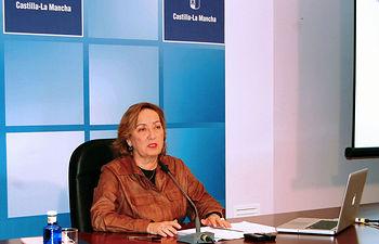 Rueda de prensa María Luisa Soriano Cuenca I. Foto: JCCM.