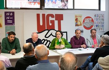 Reunión PSOE-UGT Guadalajara.