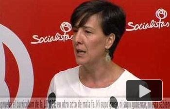 PSOE: Cospedal aprueba el currículo LOMCE a mala fe. Ni supo ganar ni gobernar, ni está sabiendo perder