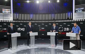 Debate Electoral en TVE para las Elecciones Generales del 28A