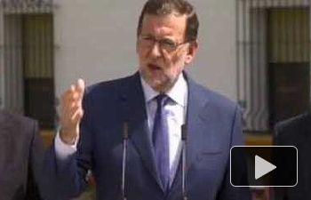 """Rajoy: """"España necesita un Gobierno capaz de generar confianza y con los objetivos claros"""""""