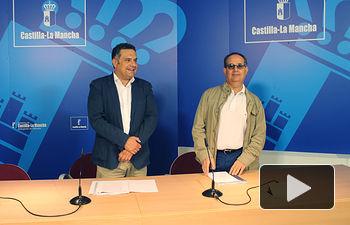 Rueda de prensa para informar de la Línea de Subvenciones por valor de 15 millones de euros en toda CLM