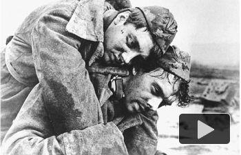 Una de las fotografías de la Guerra Civil Española y de las Brigadas Internacionales donadas por Francisco Morilla al CEDOBI