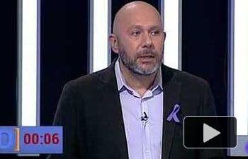 Ricardo Sixto (Candidato Nº1 UP - IU por Valencia) participa en `El Debate de la 1`(La 1 25.11.2015)