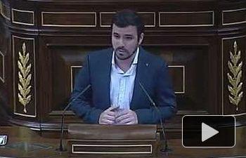 """IU: """"Estos presupuestos nos conducen a la crisis permanente"""" Alberto Garzón en el debate de los #PGE2016"""