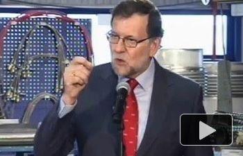 """Rajoy: """"Seguiremos trabajando para que haya más inversión extranjera en España"""""""