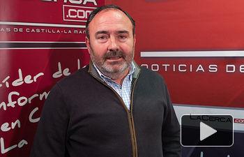 Carlos Pedrosa, secretario general de UGT en Castilla-La Mancha.
