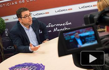 Modesto Belinchón, secretario general de la agrupación local PSOE en Albacete.