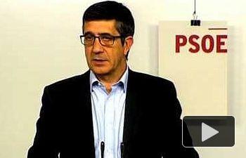 PSOE: El primer día de la #LeyMordaza es también el día en que anunciamos su final