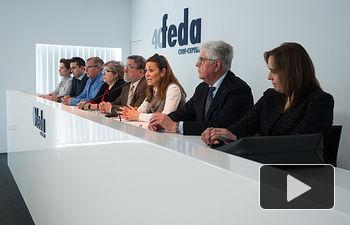 Presentación de la campaña informativa de la Plataforma por la Legalidad de FEDA