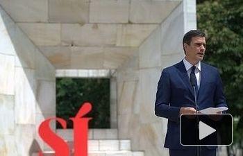 """PSOE: Pedro Sánchez presenta el documento """"Sí a los seis principios para el Gobierno del Cambio"""""""