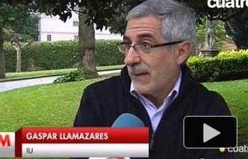 """Garzón: """"Me aterra un gobierno de PP y C's, no me consuela que IU suba en las encuestas"""""""