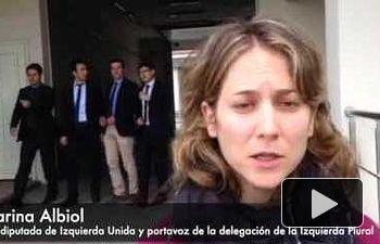 IU: Marina Albiol en la misión GUE/NGL a Turquía. Día 1, visita a Edirne - 03/05/2016