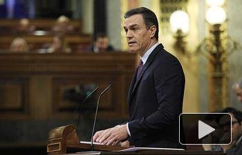 Pedro Sánchez - Debate Congreso Diputados - 04-01-20 - Foto Twitter PSOE.
