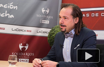 """Víctor Raúl López Ruiz, director de la III Semana Universitaria y Cervantina """"Querote"""" 2018"""