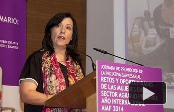 Elisa Fernández López, presidenta de FADEMUR C-LM.