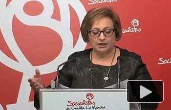PSOE: Por muchas querellas e insultos de los dirigentes del PP, no vamos a cambiar de opinión