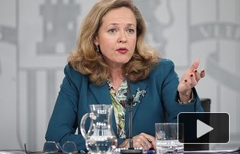 Nadia Calviño,vicepresidenta tercera y ministra de Asuntos Económicos y Transformación Digital. Foto: Europa Press 2020