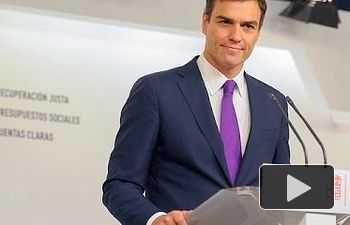 Pedro Sánchez: la Comisión Europea nos dice que Rajoy miente