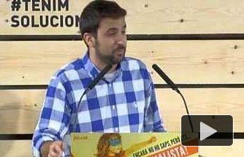 PSOE: Pedro Sánchez interviene en la campaña del PSC  en Barcelona.