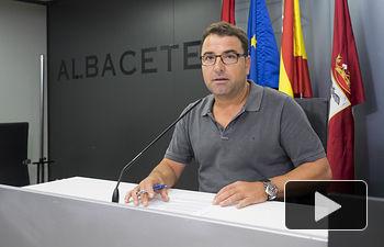 Modesto Belinchón, portavoz del Grupo Municipal Socialista en el Ayuntamiento de Albacete