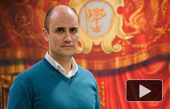 Andrés Alberto Gómez, director artístico del Festival de Música Barroca de Albacete - FEMUBA. Foto: Manuel Lozano García / La Cerca