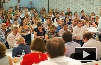 Intervención de Pedro Sánchez en el Comité Federal del PSOE